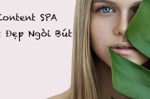 content cho ngành spa