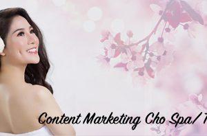 ứng dụng content cho spa